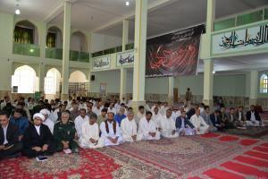 حضور مدیران و اعضای هیات علمی مجتمع در مراسم گرامیداشت حماسه آزاد سازی خرمشهر در مسجد علی ابن ابیطالب (ع) سراوان
