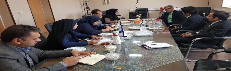 دیدار مدیر کل منابع طبیعی استان با ریاست دانشگاه اردکان