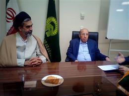 بازدید تولیت حرم حضرت زینب(س) از دانشگاه علوم اسلامی رضوی
