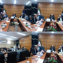 برگزاری جلسه کمیته دیده بانی سلامت استان در دانشگاه علوم پزشکی مازندران  - ۱۳۹۸/۰۴/۰۴