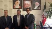 سرپرست گروه کارآفرینی و ارتباط با صنعت دانشگاه با رئیس سازمان جهادکشاورزی استان کرمان دیدار کرد