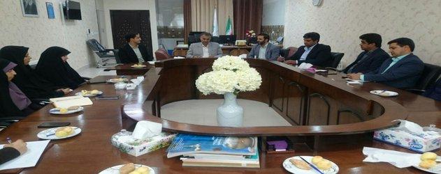 اولین نشست معاونت اداری و مالی با کارکنان حوزه اداری مالی و ریاست برگزار شد.