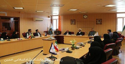بازدید بازرسان و کارشناسان وزارت بهداشت و درمان از دانشکده علوم پزشکی دانشگاه آزاد اسلامی خمین