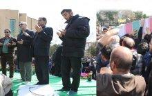 پیکر مطهر دو شهید گمنام در دانشگاه آزاد اسلامی واحد تهران جنوب آرام گرفت