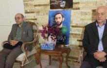 گزارش تصویری دیدار ریاست و معاونین محترم واحد از خانواده شهیدان محمدحسین حدادیان و بهزاد احمدی