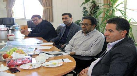 دیدار اعضای شورای اسلامی شهر پردیس با رئیس دانشگاه آزاد اسلامی واحد رودهن