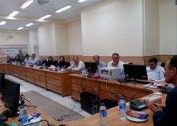 نشست مسولین بودجه واحدهای استان آذربایجانشرقی به میزبانی واحد هریس