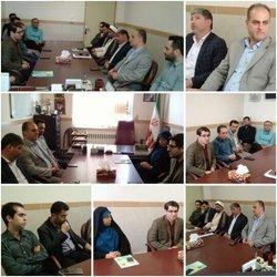 جلسه شورای فرهنگی با حضور مسئولین اجرایی بخش ...