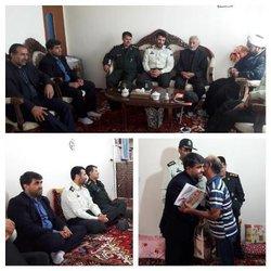 دیدار دانشگاه آزاد واحد کلیبر از خانواده های شهدا وایثارگران