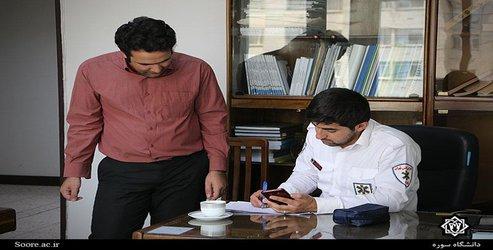 اجرای طرح بسیج ملی فشار خون در دانشگاه سوره