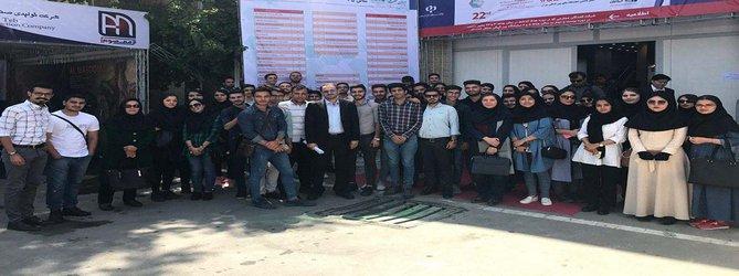 بازدید دانشجویان دانشگاه آزاد اسلامی قزوین از واحدهای صنعتی
