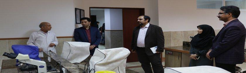 بازدید آقای دکتر محمد جواد خرازی فرد، نماینده تیم پایش و ارزیابی دوره مهارتی