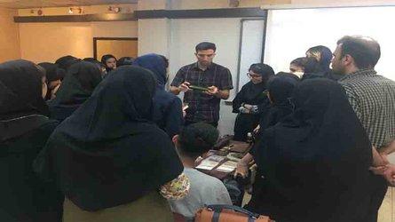 کارگاه آموزش و ساخت قلمدان و انواع جعبه پاپیه ماشه در دانشگاه هنر شیراز