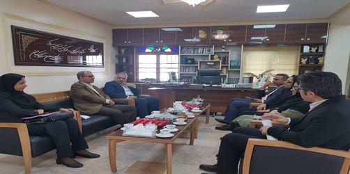 نشست مدیر کل بهزیستی استان هرمزگان با رئیس دانشگاه