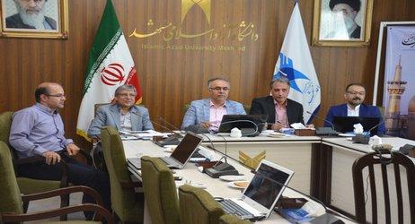 گزارش تصویری-برگزاری ویدیو کنفرانس شورای دانش بنیان دانشگاه آزاد اسلامی مشهد با سازمان مرکزی