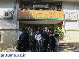 بازدید دانشجویان دانشکده بهداشت از ساختار مدیریت بحران شهر تهران