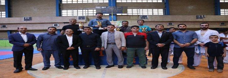 تیم کاراته برادران واحد یادگار امام (ره)شهرری به مقام اول مسابقات استانی دست یافت