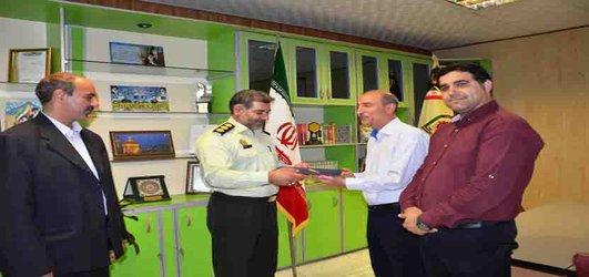 تقدیر از فرماندهی انتظامی شهرستان نیشابور