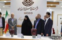 بازدید خانم دکتر داد اندیش رئیس واحد و تعدادی از اعضای هیات علمی تهران غرب از نخستین نمایشگاه فرصت های ساخت و رونق تولید