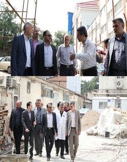 بازدید رئیس دانشگاه علوم پزشکی مازندران از پروژه های عمرانی مراکز درمانی شهرستان ساری  - ۱۳۹۸/۰۴/۳۱