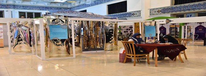 تقدیر از دانشجویان حاضر در نمایشگاه بین المللی قرآن کریم به عنوان غرفه برتر