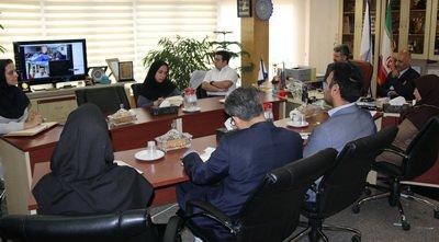 برگزاری  ویدئو کنفرانس توسعه همکاری مشترک اتاق فکر دانشگاه علوم پزشکی ایران و کرمان