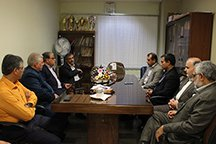 بازدید معاون سیاسی امنیتی اجتماعی استاندار اصفهان از بیمارستان شهید بهشتی کاشان