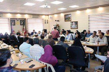 نشست سرپرست معاونت توسعه دانشگاه با معاونین و مدیران کلیه واحدهای دانشگاه