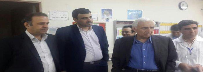 بازدید هیات بورد تخصصی ارتوپدی از بیمارستان شهید مدنی
