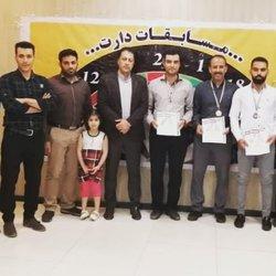 کسب مقام دوم مسابقات دارت کارکنان دولت در بخش آقایان توسط مسئول دفتر دانشگاه