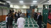 عزاداری دانشگاهیان دانشگاه آزاد اسلامی واحد رامسر در سوگ سالار شهیدان