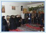 دیدار مسئولین دانشگاه با خانواده شهیدان قاری