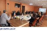 برگزاری جلسه مشورتی گزارش عملکرد برنامههای چهارساله معاونت آموزشی دانشکده پیراپزشکی
