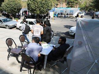 بازدید رئیس و معاونان دانشگاه تبریز از روند استقبال از دانشجویان ورودی جدید