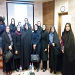 شرکت دانشجویان در همایش ملی زنان مدیر کارآفرین