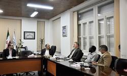 حضور رییس دپارتمان جغرافیای انسانی دانشگاه گیسن آلمان در دانشگاه مازندران