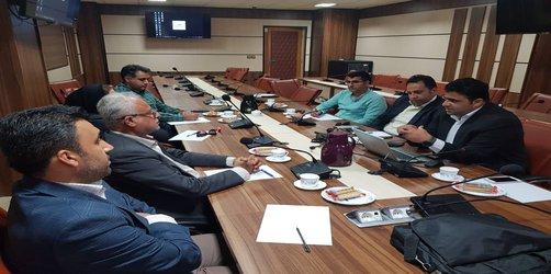 برگزاری نشست مشترک معاونت پژوهش و فناوری دانشگاه هرمزگان با شهرداری بندر کنگ در دانشگاه هرمزگان