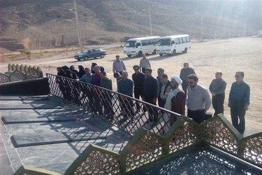 حضور کارکنان واحد ارسنجان در جوار شهدای گمنام