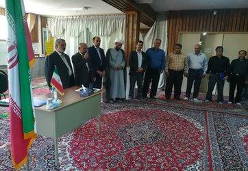برگزاری مراسم تجلیل از بازنشستگانو جلسه عمومی در مرکز تحقیقات و آموزش کشاورزی و منابع طبیعی استان سمنان