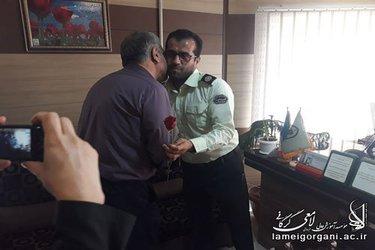 دیدار مسئولین موسسه با پرسنل نیروی انتظامی به مناسبت هفته نیروی انتظامی