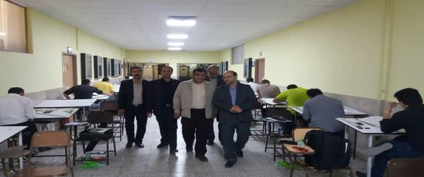 در دانشگاه آزاد اسلامی اصفهان صورت گرفت؛ بازدید رئیس مرکز سنجش و پذیرش دانشگاه آزاد اسلامی از آزمون ورود به حرفه مهندسان - ۱۳۹۸/۰۷/۲۰