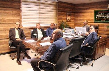 نشست رییس دانشگاه علوم پزشکی گیلان  بانایب رییس انجمن اهدا عضو ایرانیان