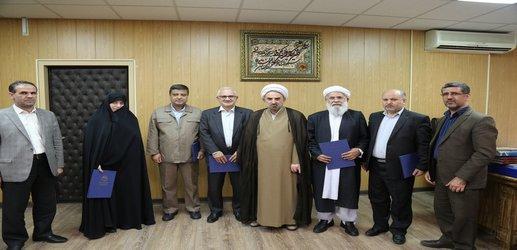 انتصاب مدیران جدید گروههای آموزشی دانشگاه مذاهب اسلامی برای مدت ۲ سال با حکم ریاست دانشگاه