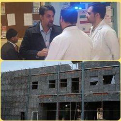 بازدید رییس اداره اورژانس بیمارستانی وزارت بهداشت از  بیمارستان شهید بهشتی نوشهر   - ۱۳۹۸/۰۷/۲۶