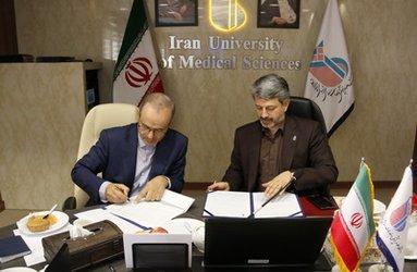 تفاهم نامه همکاری  دانشگاه علوم پزشکی ایران و دانشگاه تربیت مدرس