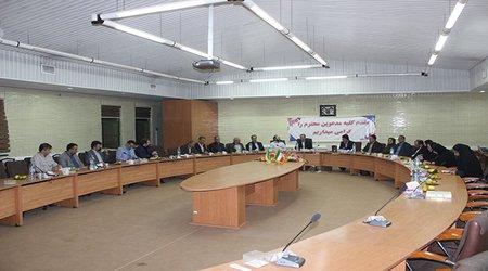 راهبردهای توسعه نظام نوین ترویج در نظام شالیزاری کشور در جلسه مشترک ریاست، معاونین و مدیران کل موسسه آموزش و ترویج کشور در مرکز هراز بررسی شد
