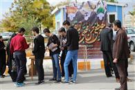 ایستگاه صلواتی در ساعت فرهنگی دانشگاه