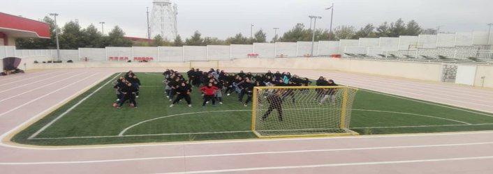 برگزاری ورزش صبحگاهی دانشجویان دانشگاه آزاد اسلامی قزوین