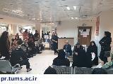 برگزاری کلاس آموزشی به مناسبت هفته دیابت در بیمارستان ضیائیان