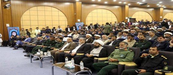 حضور دکتر رضائی رئیس دانشگاه در چهارمین یادواره شهدای دانشجوی استان